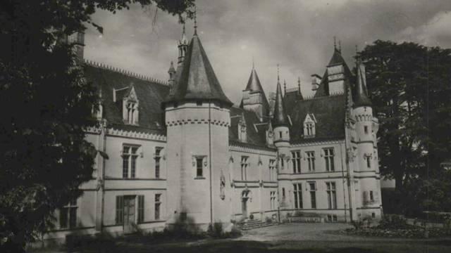 Carte postale ancienne, Château de Baudiment