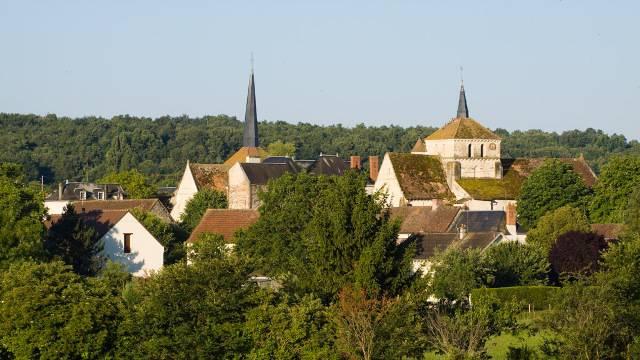 Coussay-les-Bois Eglises - (c) Hellio - Van Ingen