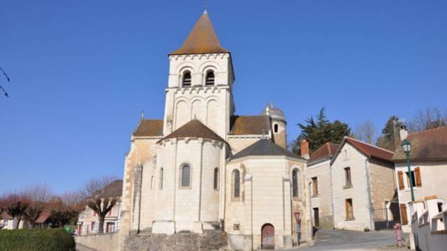 Vaux-sur-Vienne l'église  ©JF Pigeot