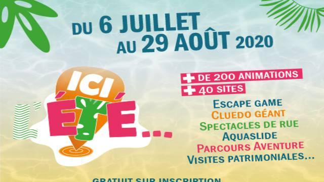 Ici l'été en Grand Châtellerault