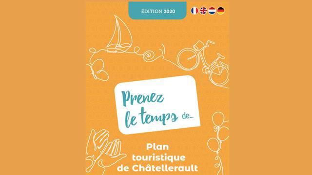 Plan von Châtellerault