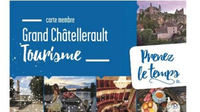 Was ist die Karte Grand Châtellerault Tourisme?