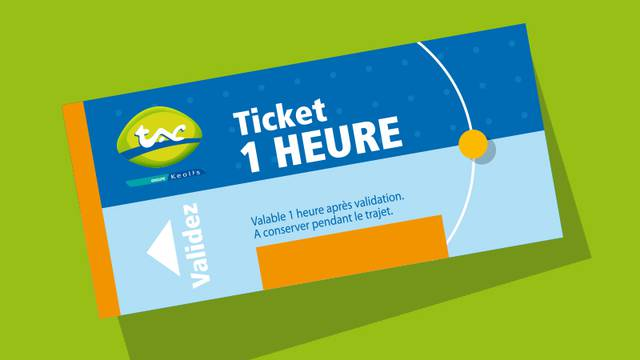 Ticket de bus