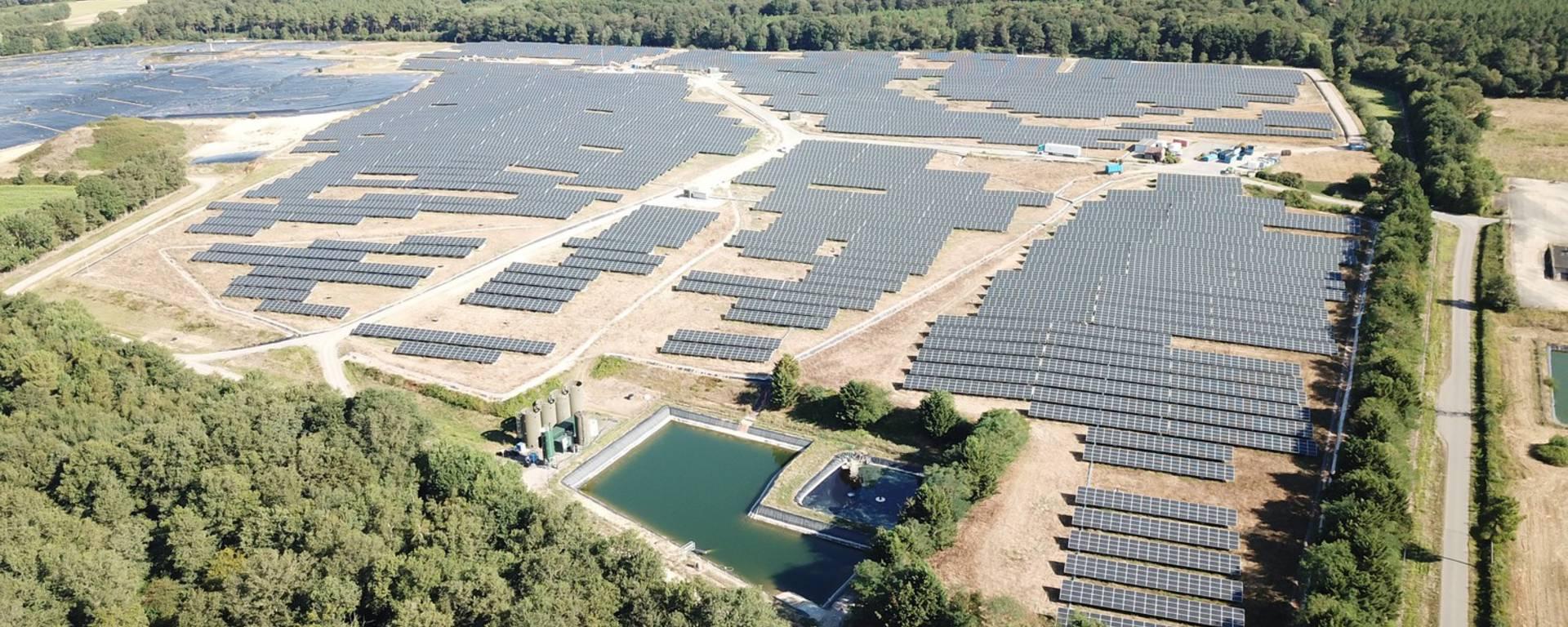 Sergies - Champ photovoltaïque de Saint-Sauveur ©Sergies