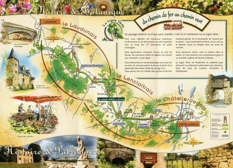 Itinéraire de la Ligne Verte