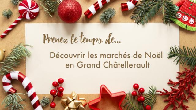 Marchés de noel châtellerault