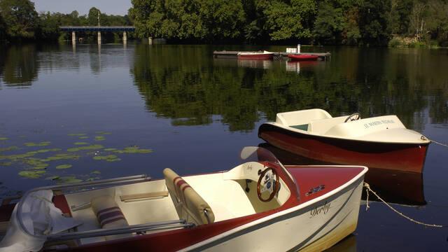 Mini-Port de bateaux électriques