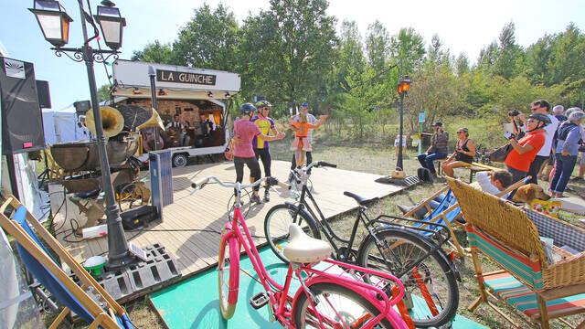 Vélo, Swing et Petits Pois