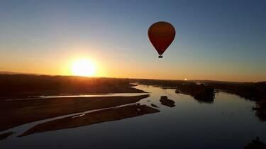Prendre de la hauteur lors d'un voyage en montgolfière