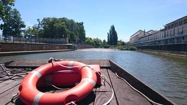 Embarquer sur la Vienne à bord du Jehan Martin