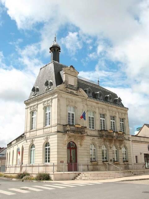 Hôtel de ville mairie de Pleumartin