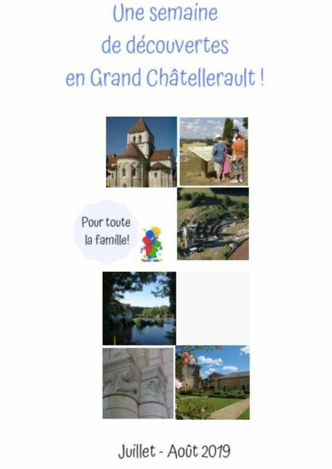 Une semaine de découvertes en Grand Châtellerault