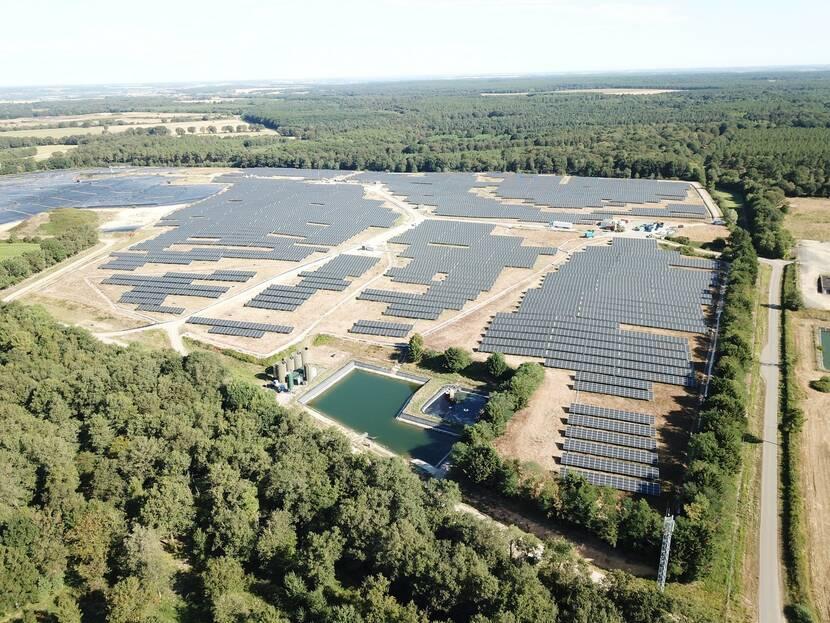 Sergies, Champ photovoltaïque de Saint-Sauveur
