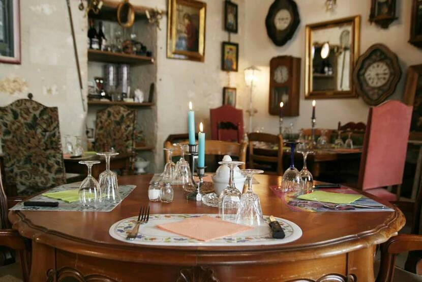 restaurant brocante grand châtellerault