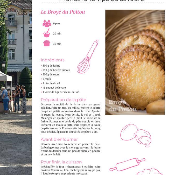 Recette du Broyé du Poitou