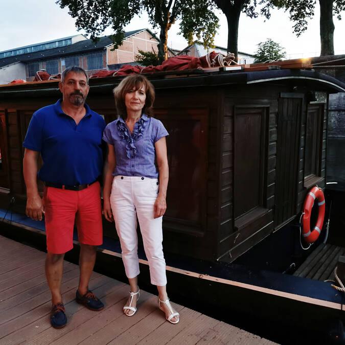 Bruno et Carole Desmurs à Châtellerault