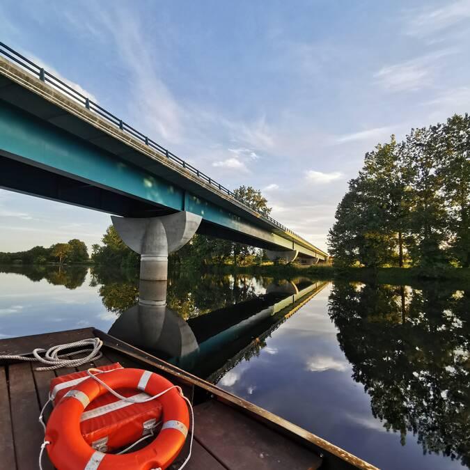Le plus long pont de la Vienne : 280 mètres