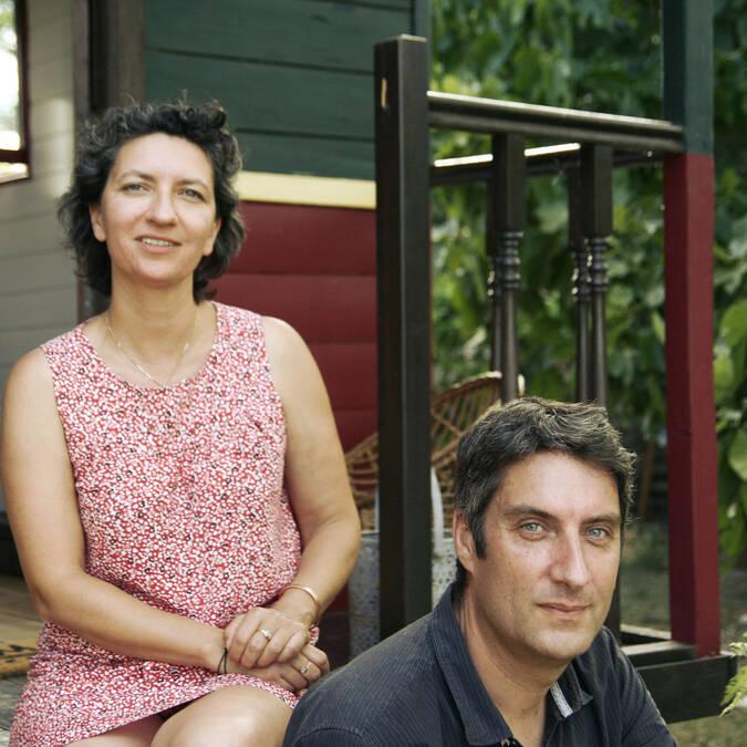 Amélie et François, les propriétaires du Chant des Étoiles