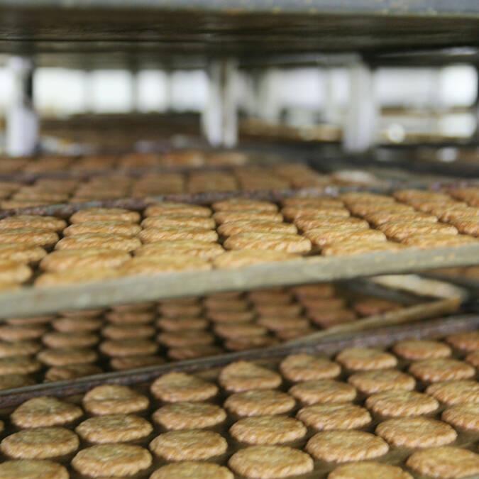 La délicieuse odeur des biscuits tout juste sortis du four...
