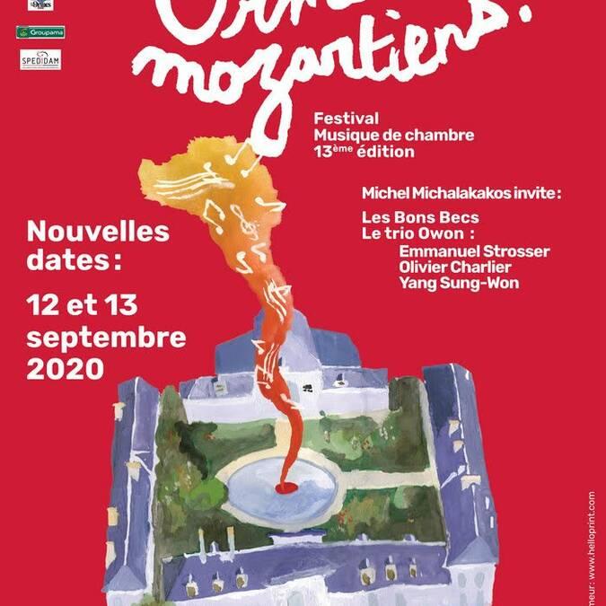 Festival Aux Ormes Mozartiens 2020