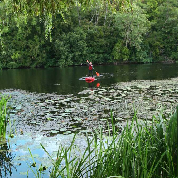 Stand-Up paddle sur la Vienne