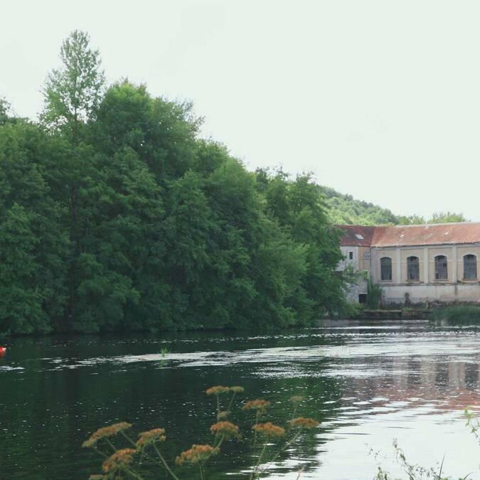 La centrale hydroélectrique de Bonneuil-Matours