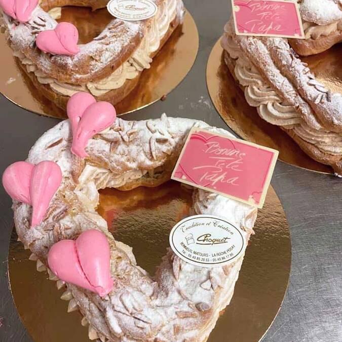Le Paris-Bonneuil, spécialité de la pâtisserie Choquet