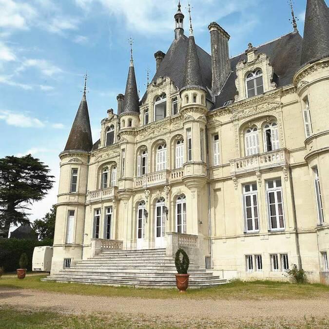 Le château de Marieville à Bonneuil-Matours