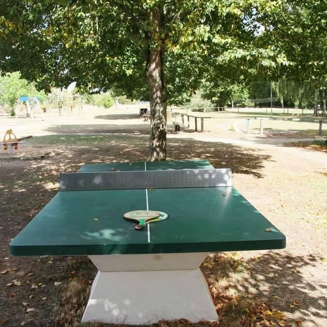 Une partie de ping-pong après le paddle ?