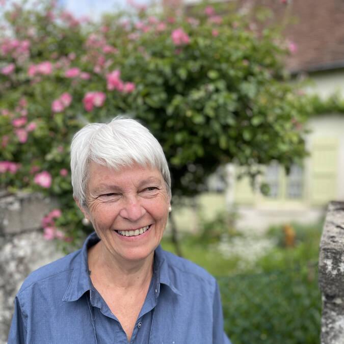 Maryvonne Goffre de l'association Mieux Vivre à Mairé