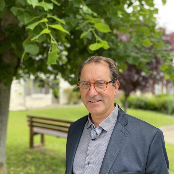 Monsieur le maire de Mairé, Thierry Triphose
