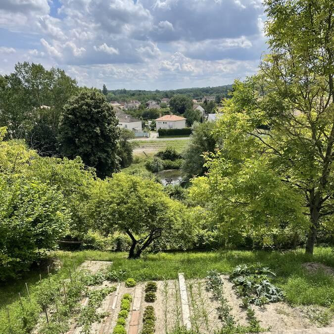 Vue sur la vallée de la Creuse